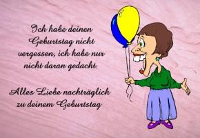 Gluckwunsche Zum Geburtstag Nachtraglich Lustig Geburtstagsspruche