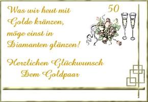 glückwünsche goldene hochzeit, Einladung