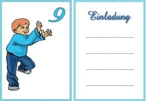 Kindergeburtstag Einladungskarte