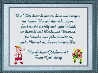 Glückwünsche Zum Geburtstag Bayrisch Mundart Deutsch