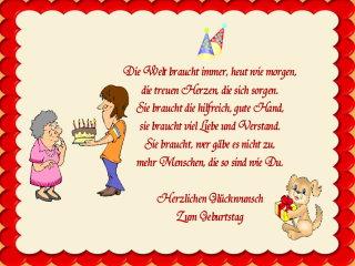 June C Miller Geburtstag Spruche Frau