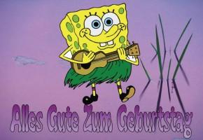 Spongebob gru karten for Geburtstagskarten gratis drucken