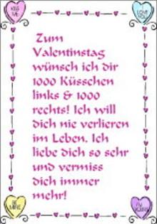 Valentinstag Grusskarten